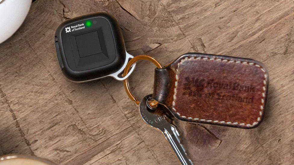 RBS biometric payment fob