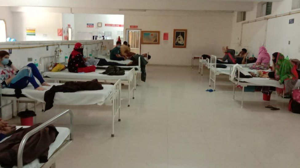 Isolation wards
