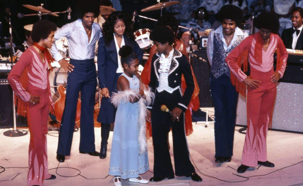 The Jacksons in 1970