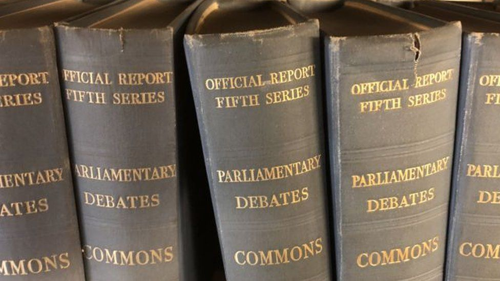 Records of Parliamentary debates