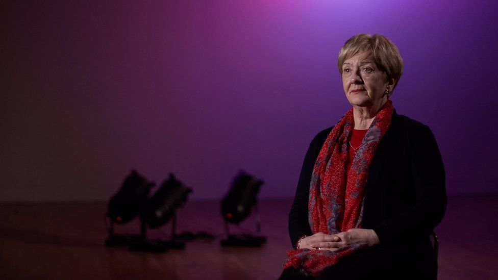 Marjorie Leslie recounts her personal experiences of an IRA bombing in a stage production