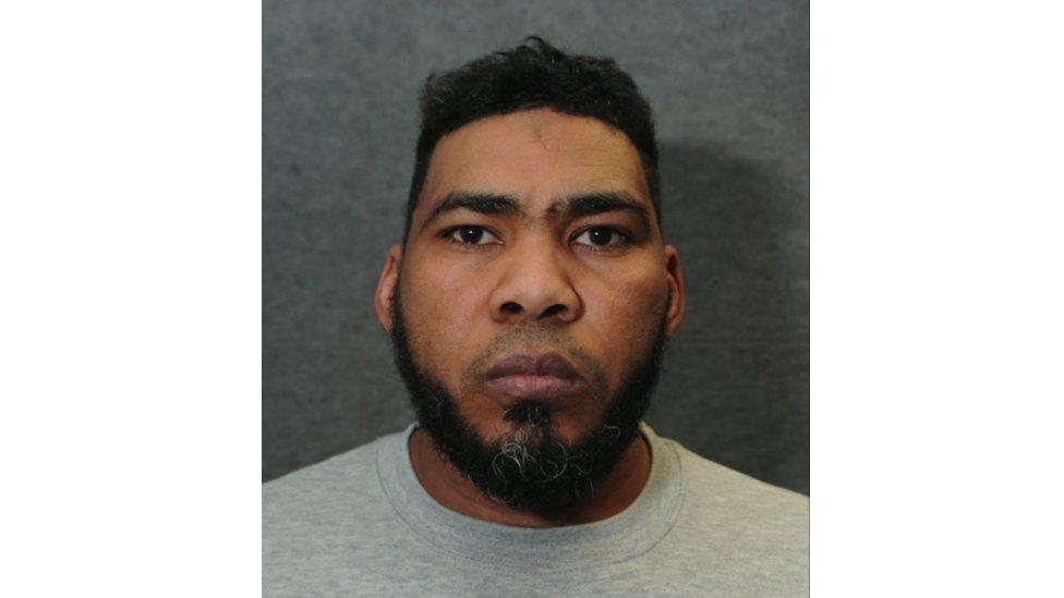Munir Mohammed's police custody picture