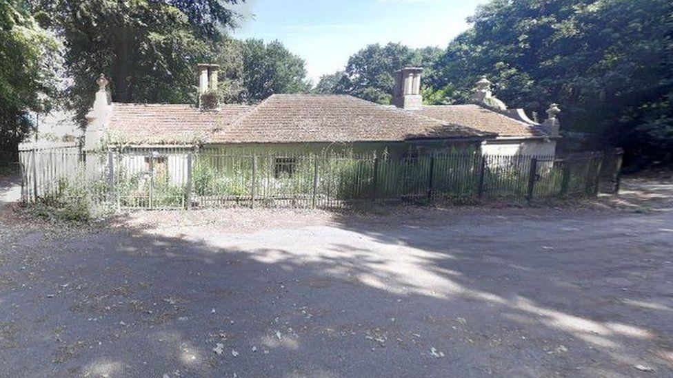Birley Spa bath house