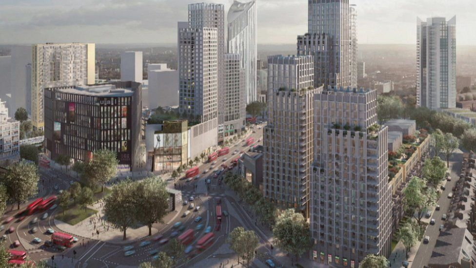What Elephant and Castle would look like