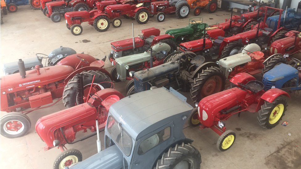 Tractors ready for sale