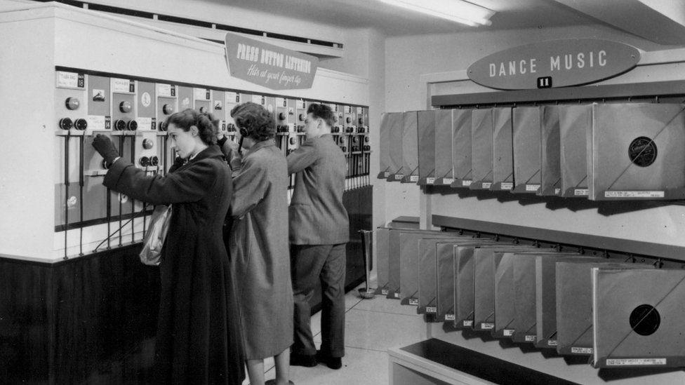 Revamped listening posts in 1953