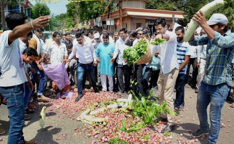 Farmers want better prices for their produce