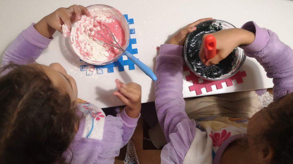 Pancake-making