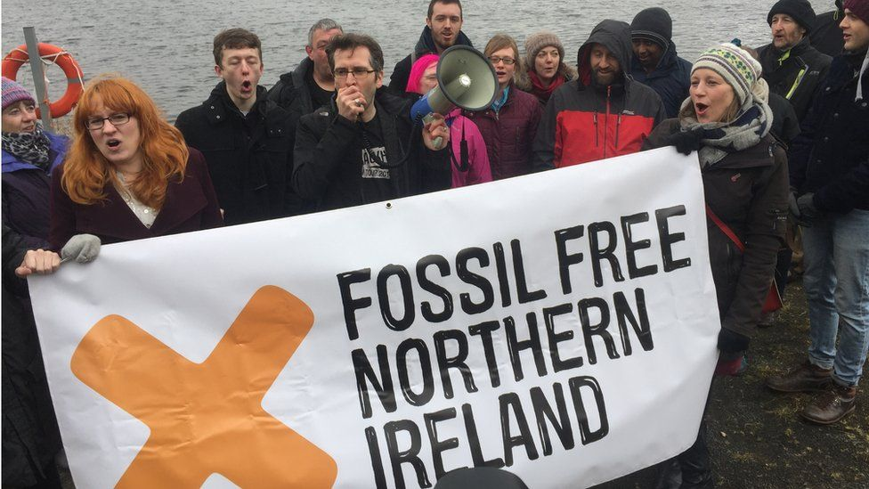 Woodburn Forest was the site of an environmental protest in 2016