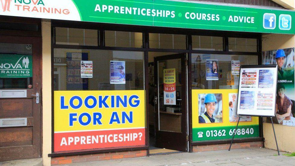 Apprenticeships advice shop in Norfolk