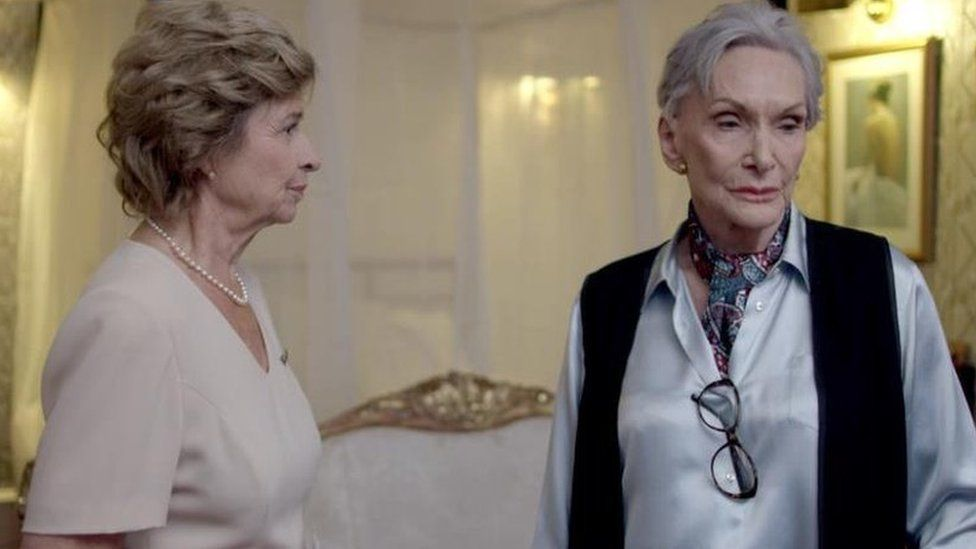 Brigit Forsyth and Dame Sian Phillips