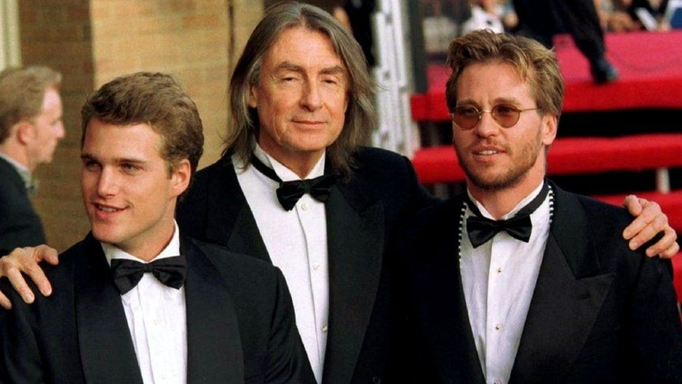 Joel Schumacher, Val Kilmer, right, and Chris O'Donnell