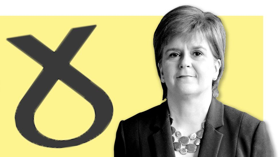 Nicola Sturgeon, First Minister of Scotland and leader of the Scottish National Party