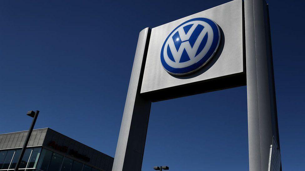 A VW logo
