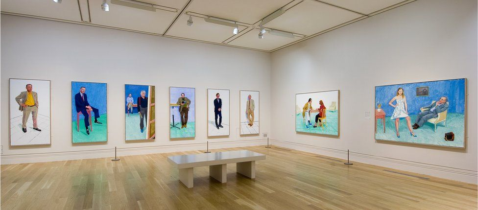 """Jiab Prachakul had the """"instant realisation"""" that she wanted to be an artist, after seeing a David Hockney retrospective at the National Portrait Gallery in 2006"""