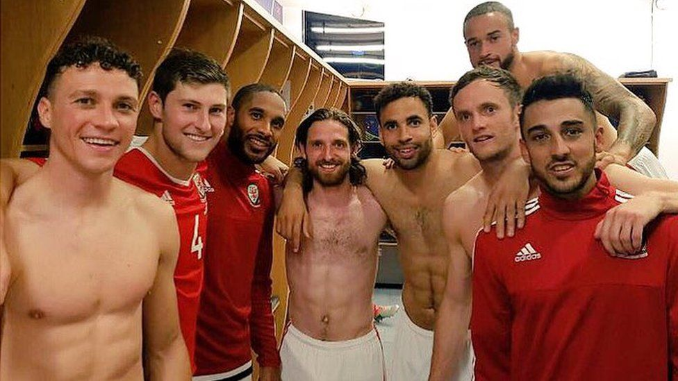 Andy King tweets: Unbelievable night. top of the group!! @FAWales fans were unbelievable #TogetherStronger #Euro2016