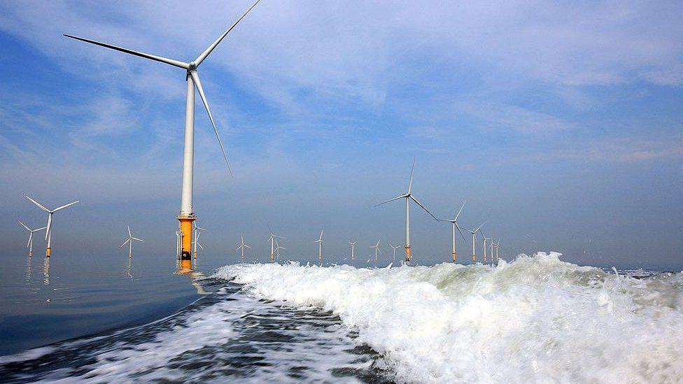 Burbo Bank Offshore Wind Farm, Liverpool