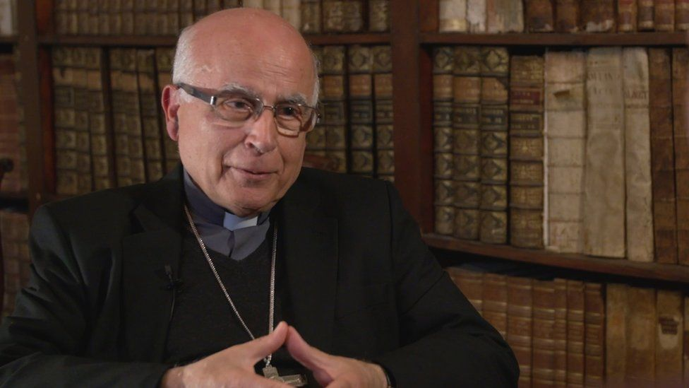 The Bishop of Gibraltar, Carmelo Zammit