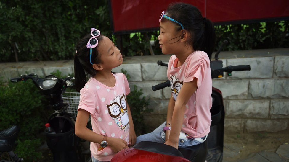 Two Chinese sisters