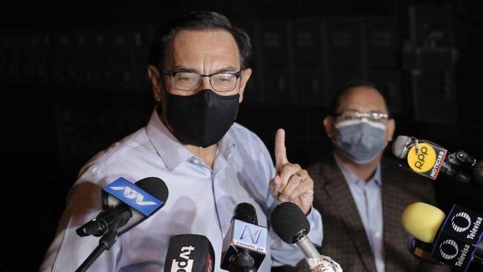 Peruvian vaccine scandal politician gets Covid thumbnail