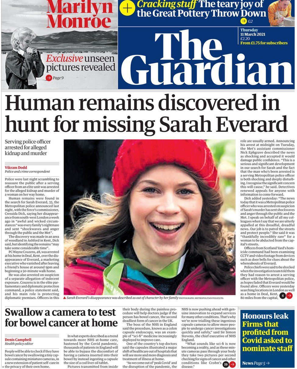 The Guardian 11 March