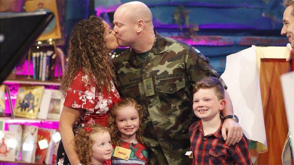 The Burke family reunion