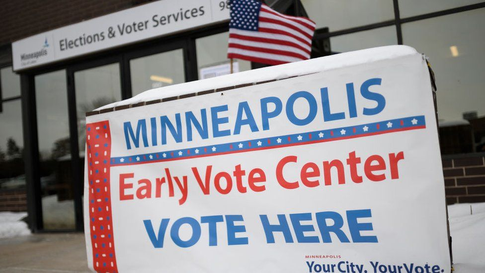 Minnesota voters cast first ballots of 2020 election