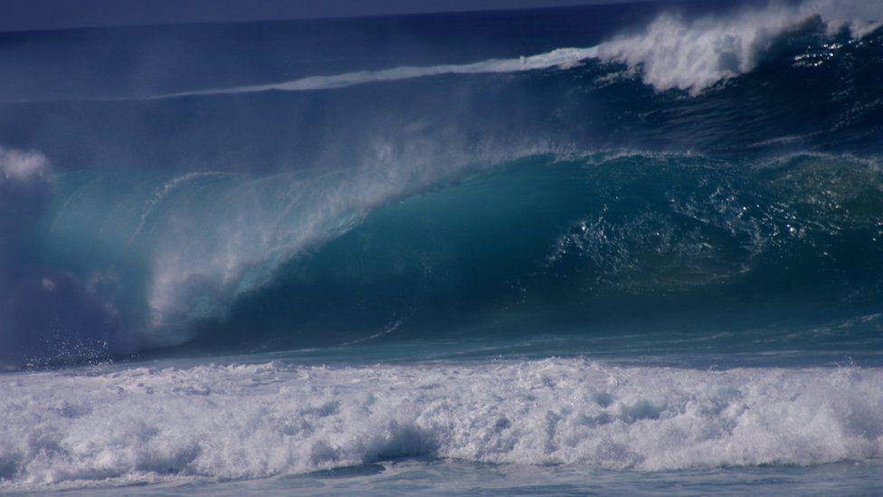A tsunami