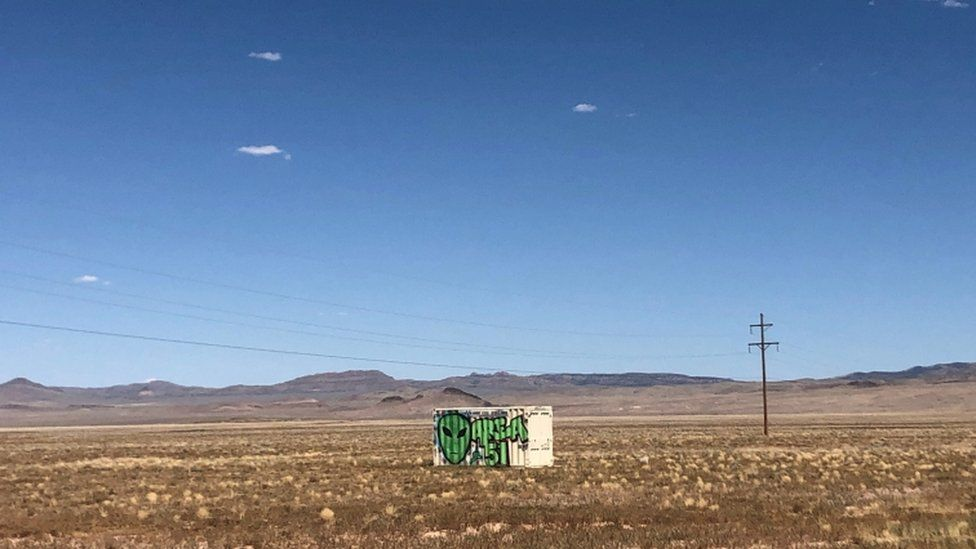 Area 51 is situated around 30 miles (48km) south of Rachel, in Lincoln County, Nevada