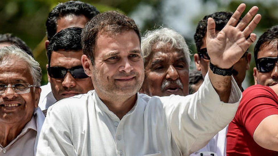Rahul Gandhi, head of India National Congress