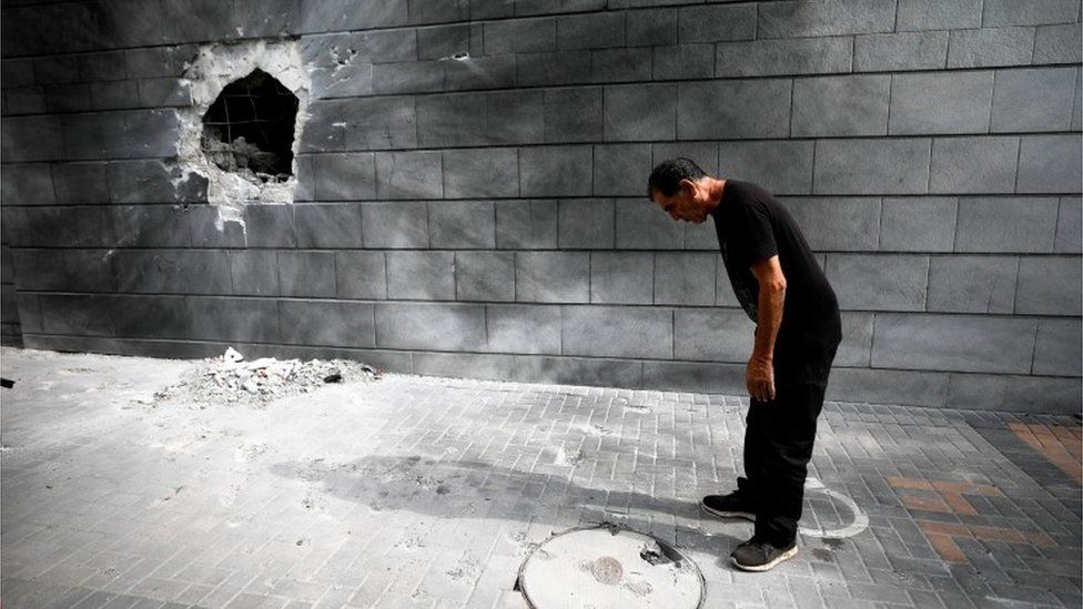 damage in Ashkelon