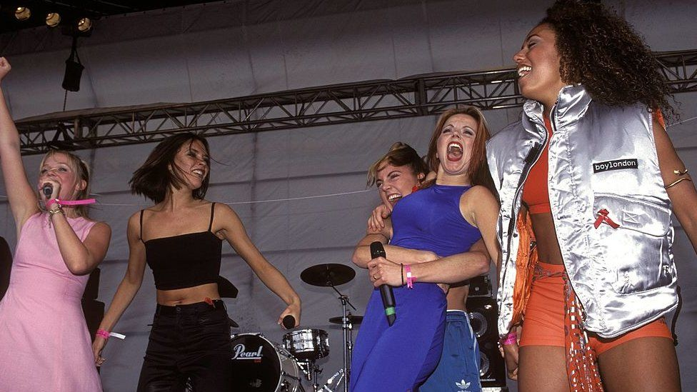 The Spice Girls in 1995