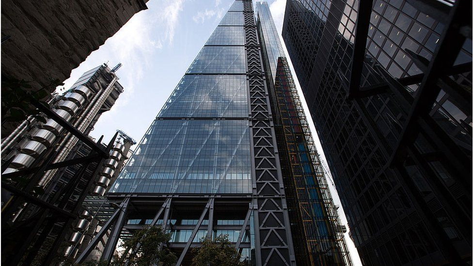 Picture of skyscraper in London