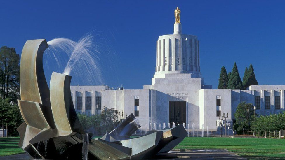 File photo of State Capitol building in Salem