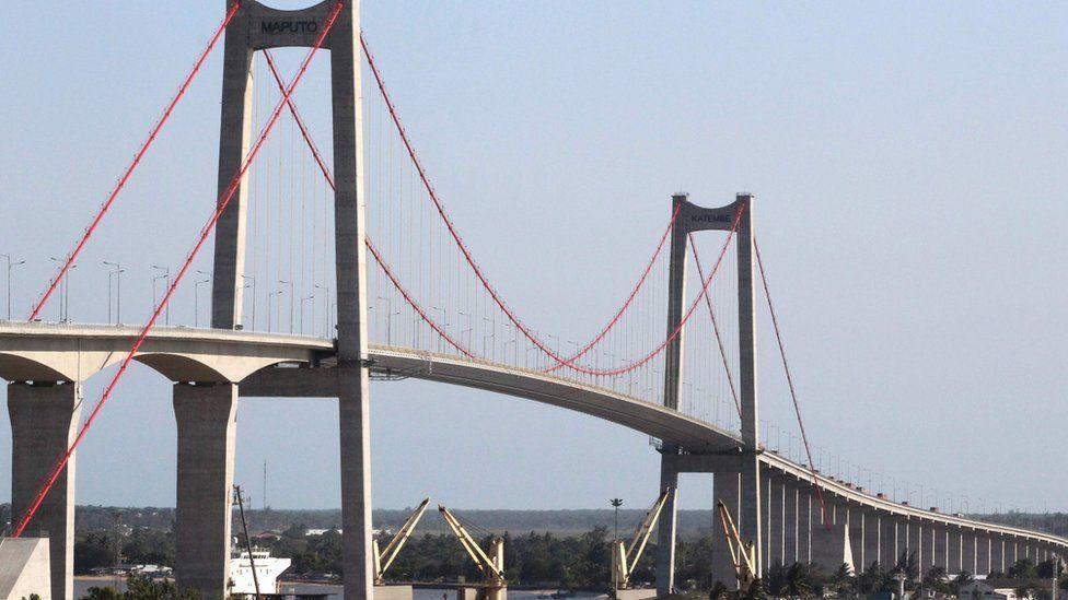 The new suspension bridge in Maputo - 10 November