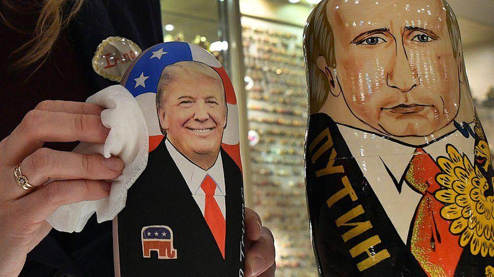trump and putin nesting dolls