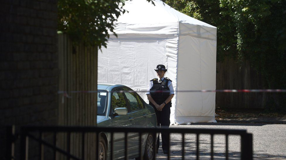 Forensic tent