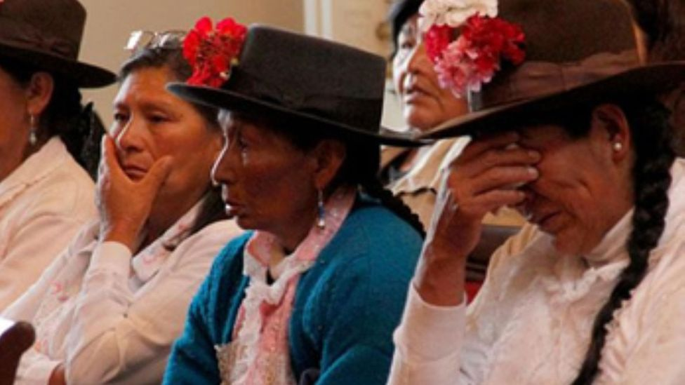 Andean women from Cuzco who say they were sterilised without their consent