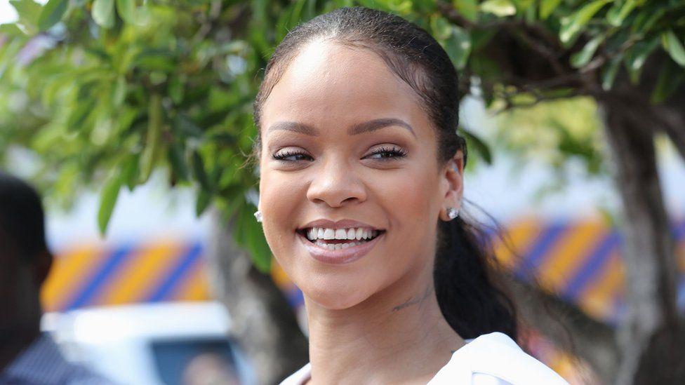 The popular singer Rihanna