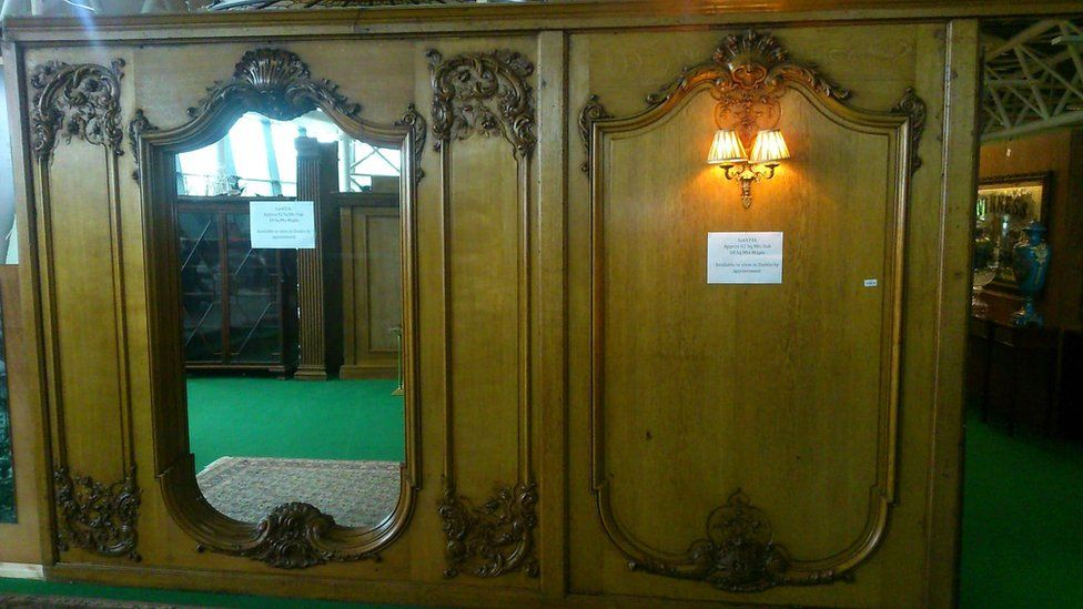 Dresser made from Britannic wood