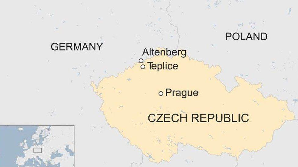 Czech Republic map