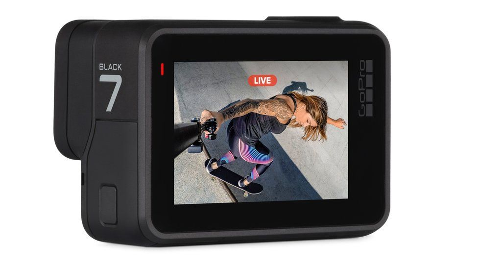 The Hero Black 7 can livestream footage when paired to a smartphone