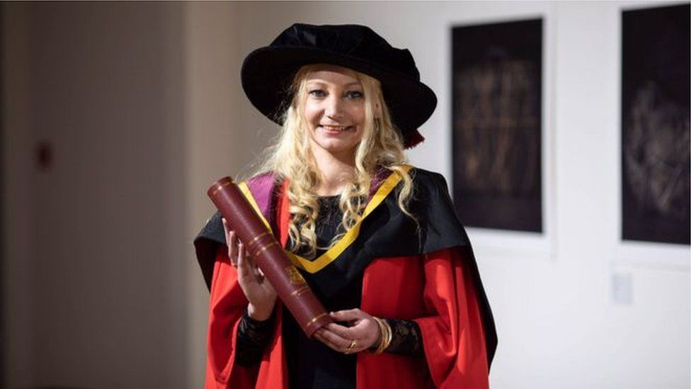 Dr Sindy Joyce recently graduated with a PHD