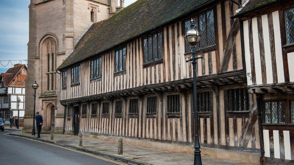 Shakespeare schoolroom