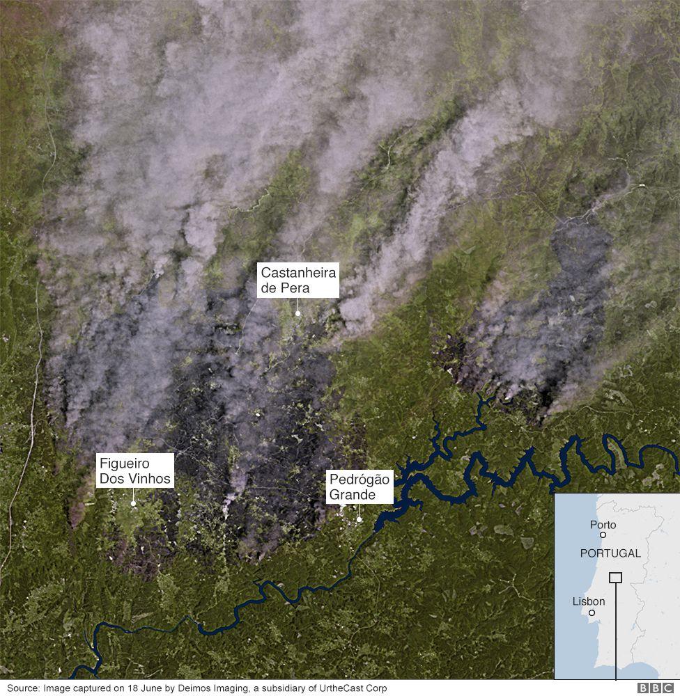 Satellite image captured 18 Jun 2017