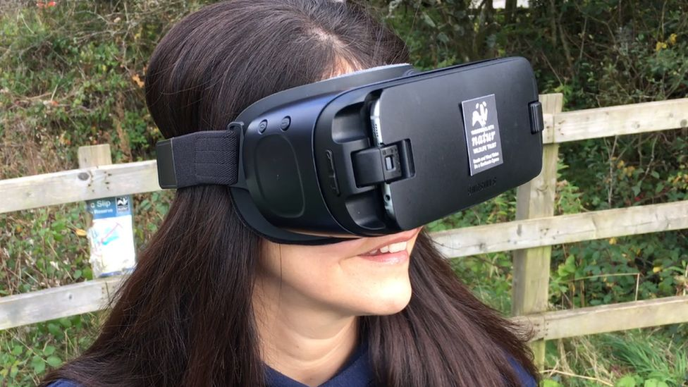 VR head set
