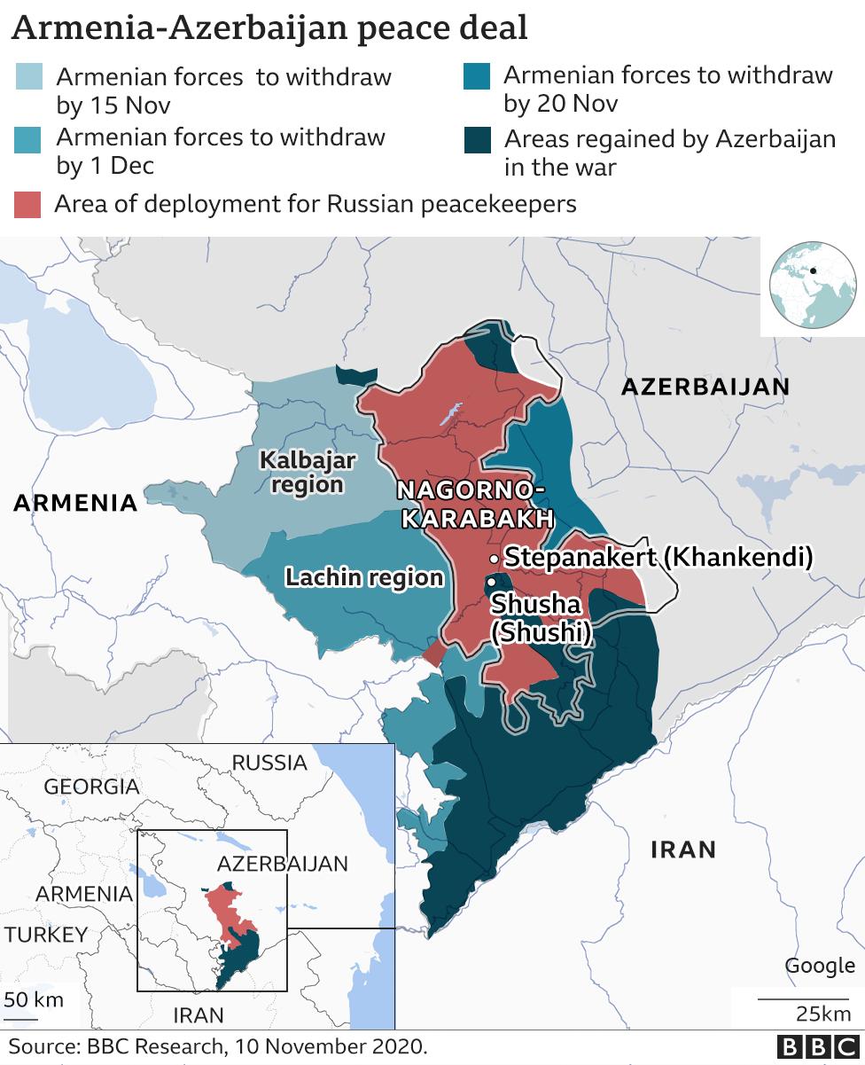 Armenia-Azerbaijan: Why did Nagorno-Karabakh spark a conflict? - BBC News