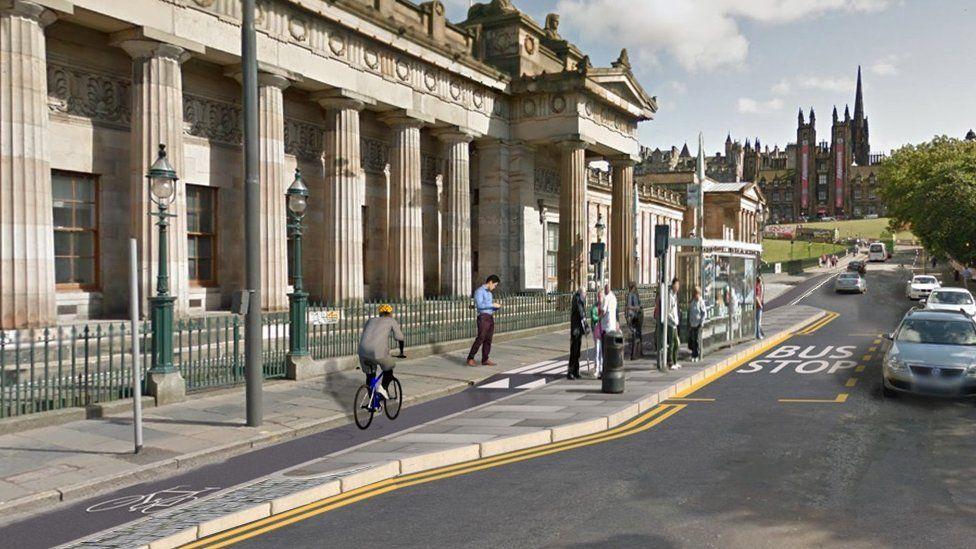 Meadows to George Street in Edinburgh