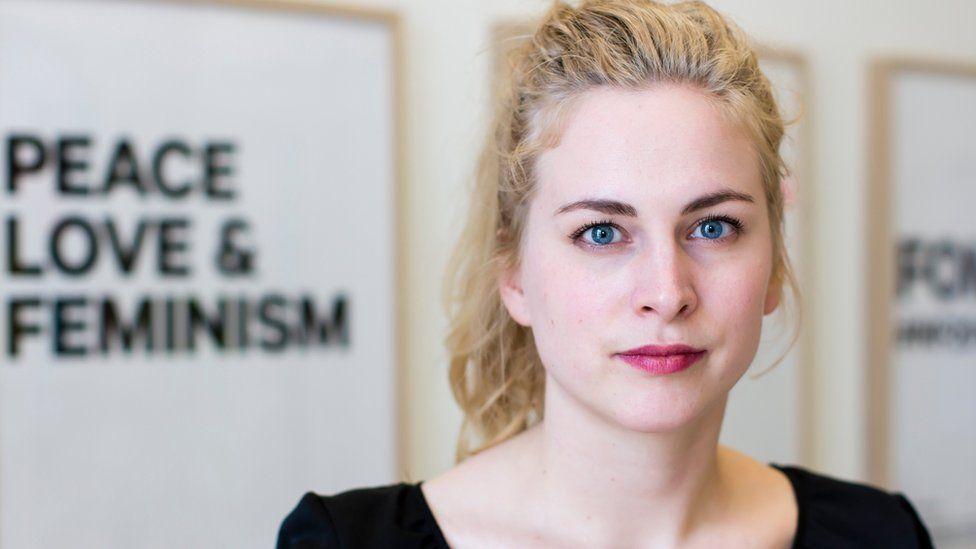 Clara Berglund, leader of the Swedish Women's Lobby