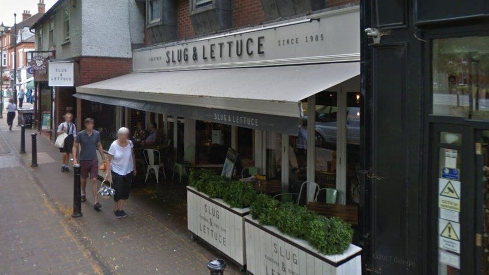 The Slug and Lettuce pub